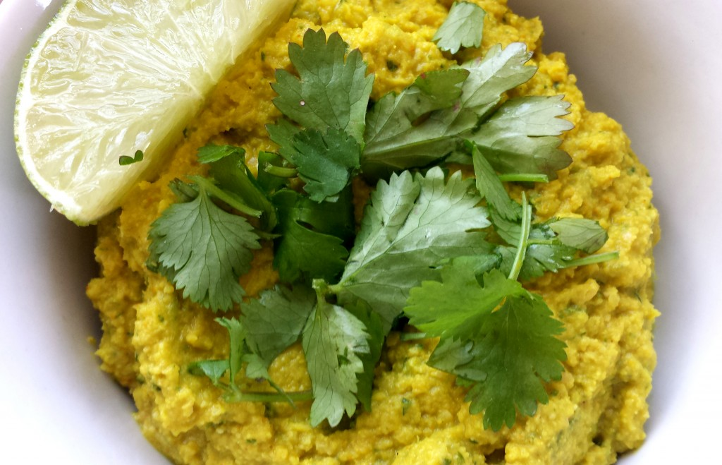 Spicy Curry Hummus Recipe