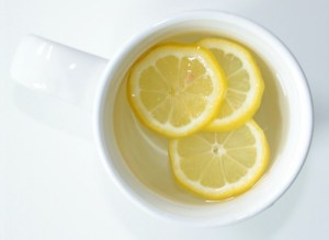 drinking-hot-water-with-lemon