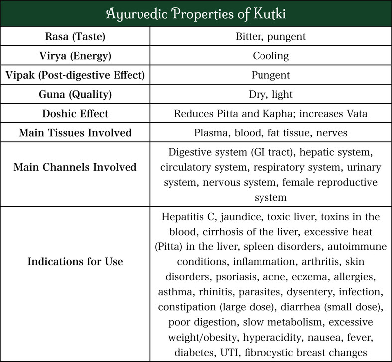 Kutki: A Bitter Tonic for Liver Health, Weight Management and