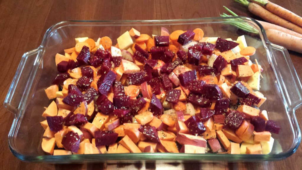 ayurvedic roasted veggie recipe