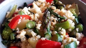 Ayurvedic Breakfast Scramble